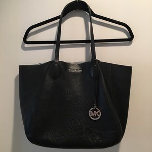 Michael Kors East West Reversible Leather Tote